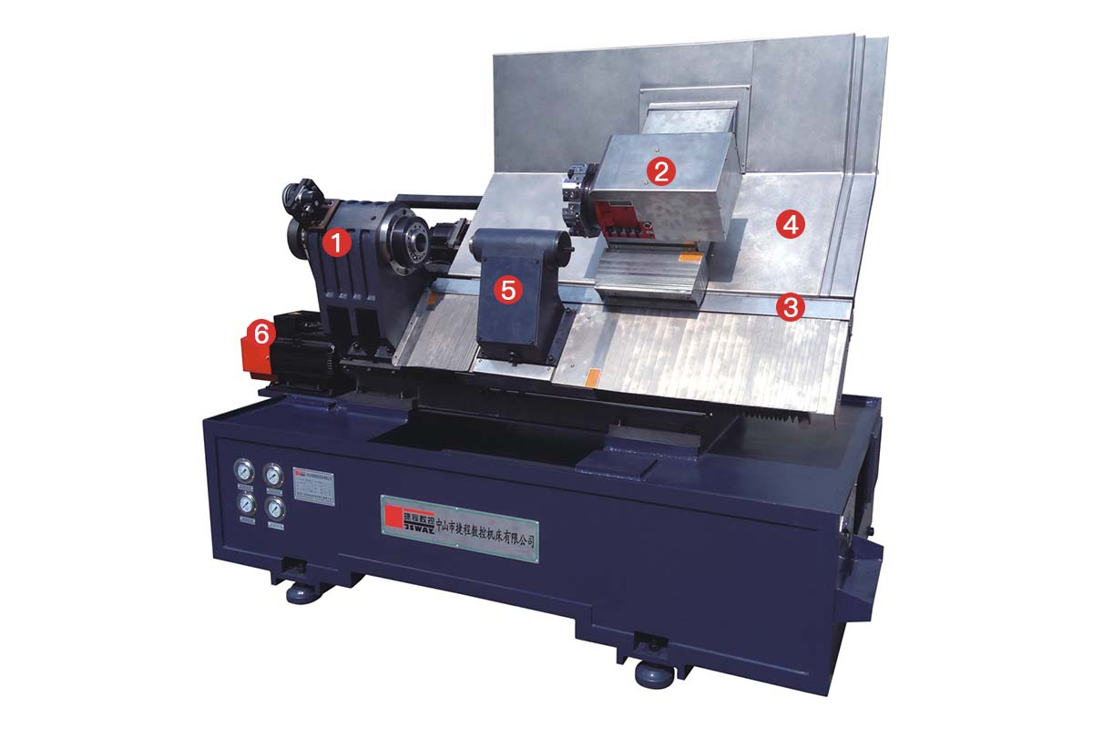 product-CB46DWCB56DWCL46DWCL56DW 2 axis slant bed turret and tailstock CNC lathe machine-JSWAY-img