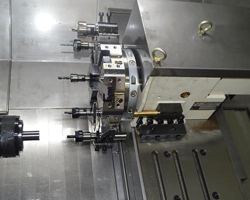 product-JSWAY-CFG46DCFG56D 2 axis slant bed turret CNC lathe machine for sale-img-1