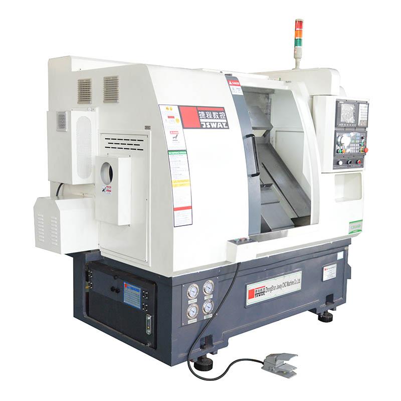 product-JSWAY-CZG46DCZG56D 2 axis slant bed turret CNC lathe machine-img