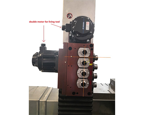 product-2020 new B8D Multi axis gang type slant bed CNC turning lathe-JSWAY-img-2