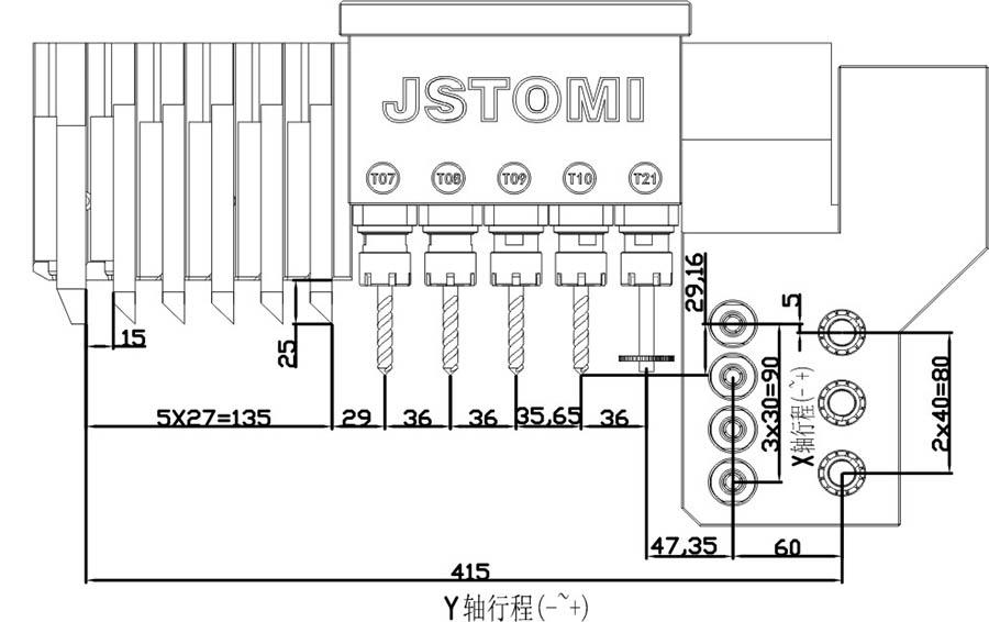 product-JSWAY swiss type automatic lathe A363-JSWAY-img
